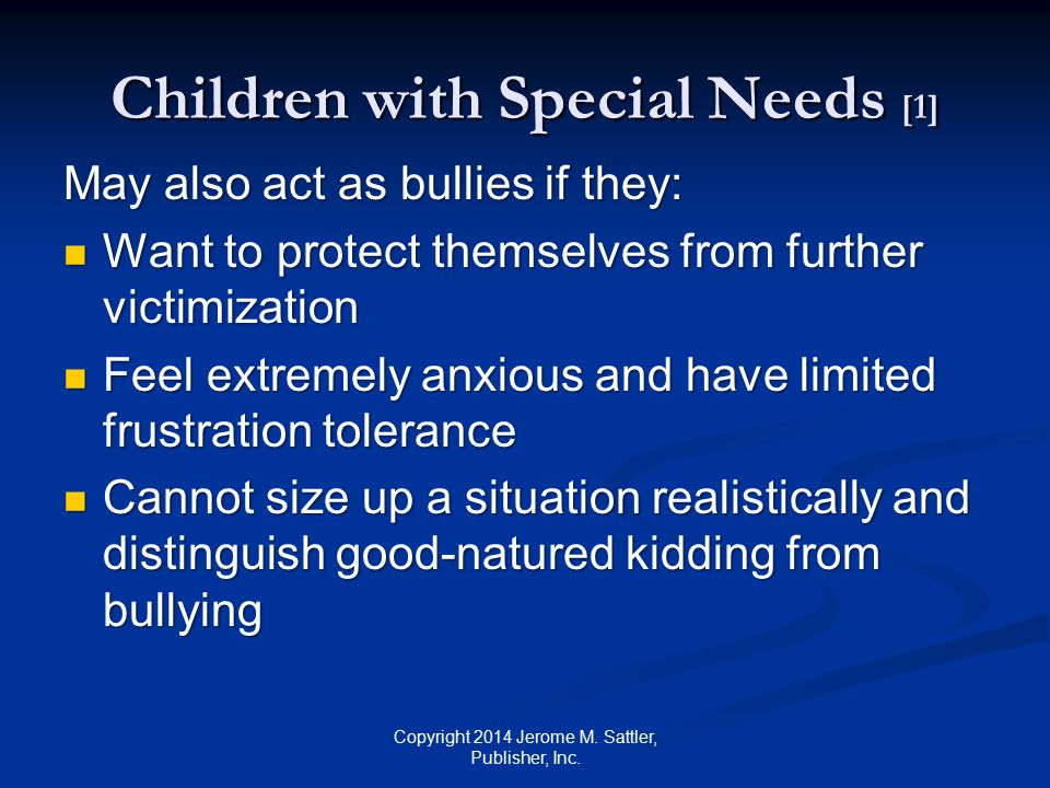 Children with Special Needs [1]
